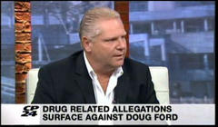 Doug Ford's response to published drug allegations breaks with brother's silent strategy